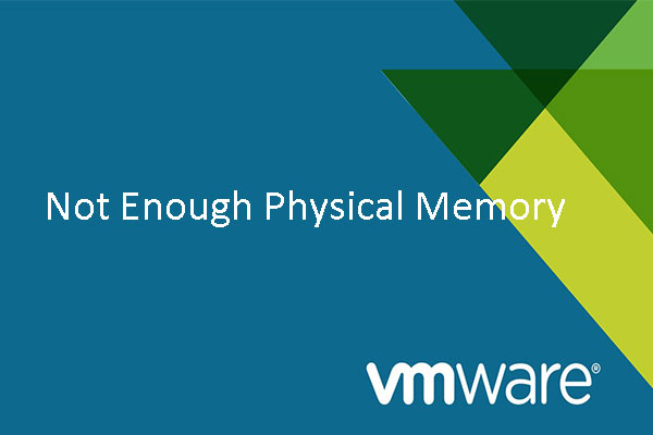 not enough physical memory error thumbnail