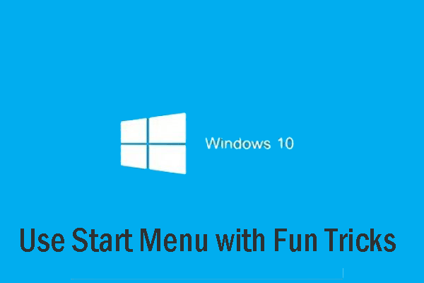 use start menu with fun tricks thumbnail