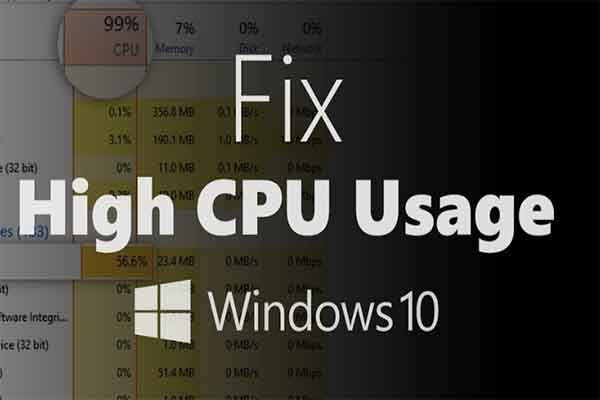 windows 10 update causes high cpu usage thumbnail