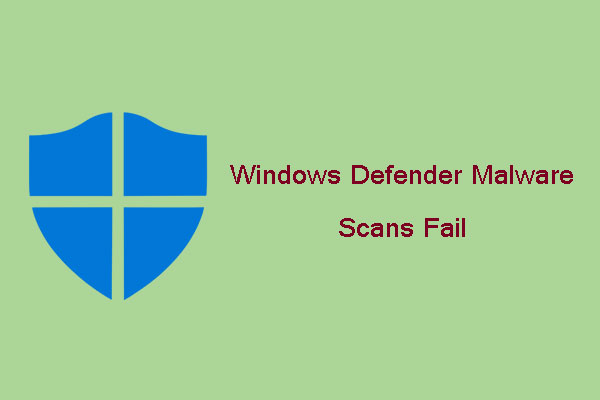 windows defender scan fails thumbnail