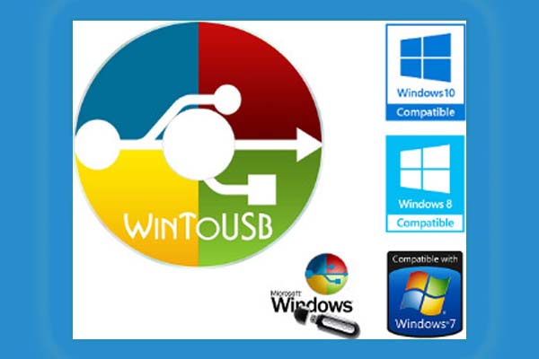 WinToUSB: How to Create Portable Windows 10 to USB Drive