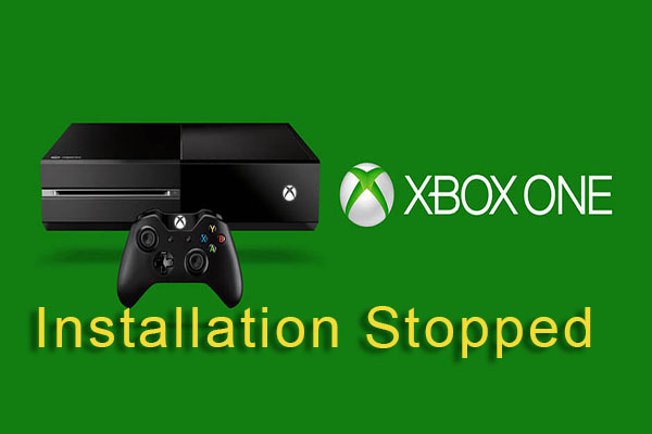 xbox one installation stopped thumbnail