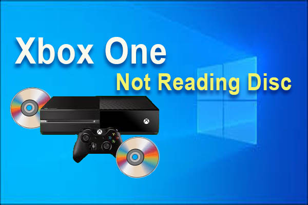 Xbox one not reading disc
