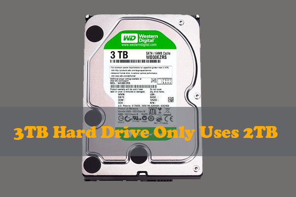 3tb hard drive only uses 2tb thumbnail