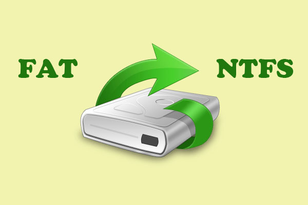 convert fat32 to ntfs without losing data thumbnail