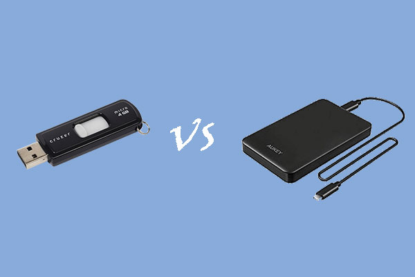 external hard drive vs flash drive thumbnail