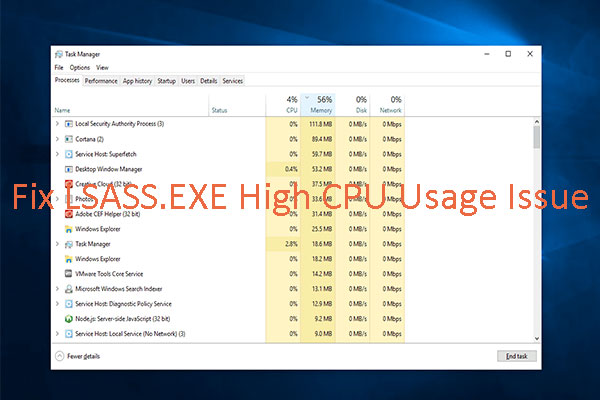 lsass exe high cpu thumbnail