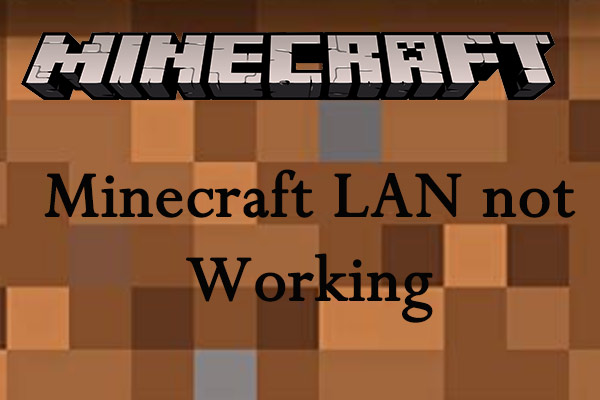 Minecraft lan not working