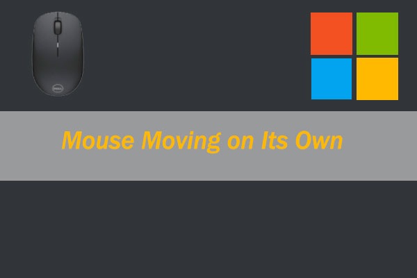 mouse moving on its own thumbnail