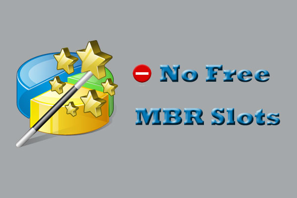 no free MBR slots
