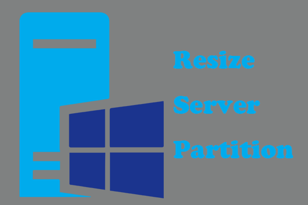 resize server partition