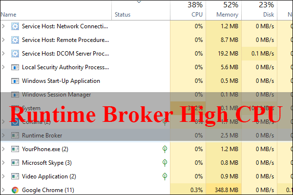 runtime broker high cpu thumbnail