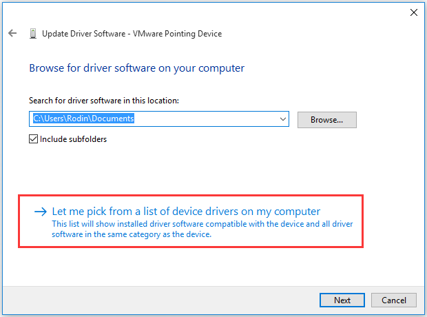 pick a device driver firm my computer