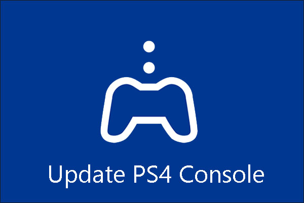 update ps4 console thumbnail