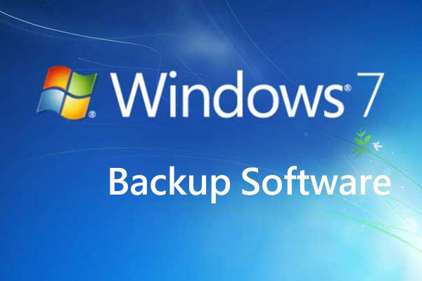 Windows 7 backup software