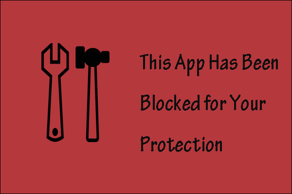 app blocked for protection thumbnail