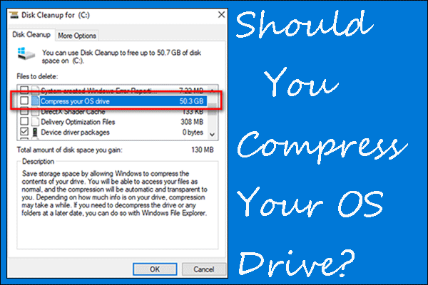 Compress your OS drive