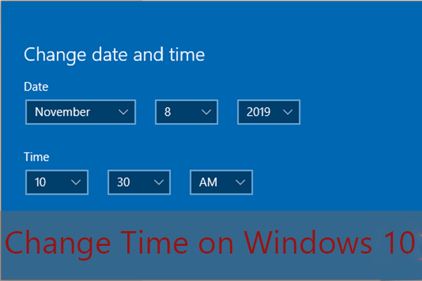 how to change time on windows 10 thumbnail