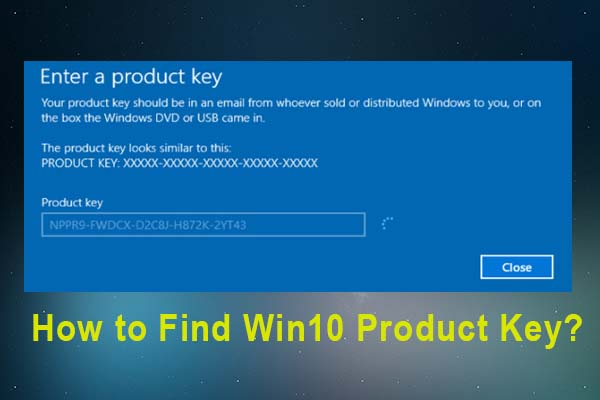 how to find win 10 product key thumbnail