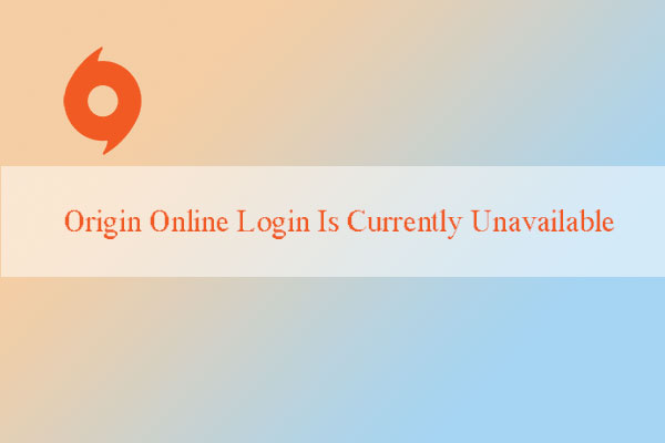 How To Fix Origin Online Login Is Currently Unavailable 2020