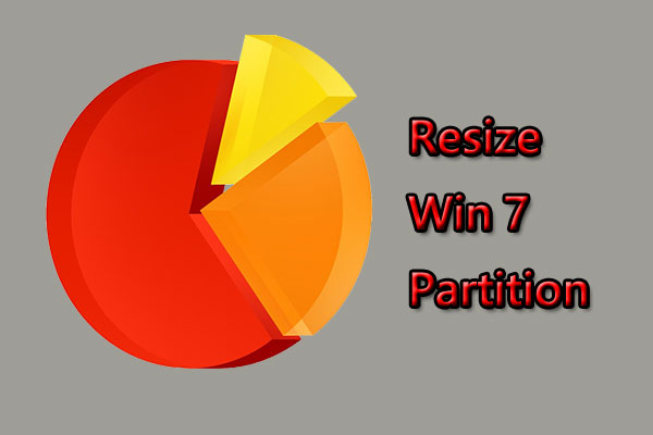 resize Windows 7 partition