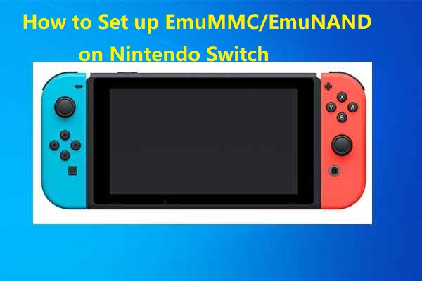 set up emummc emunand on nitendo switch thumbnail