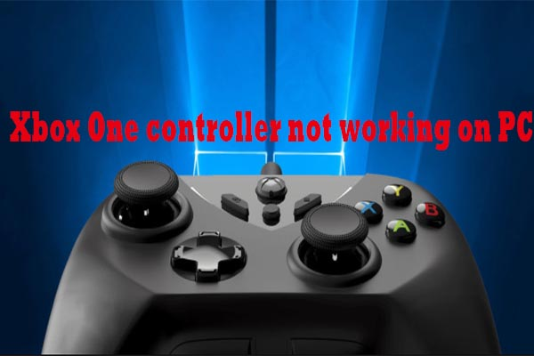 xbox one controller not working on pc thumbnail