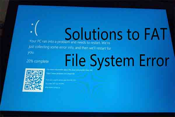 fat file system error thumbnail