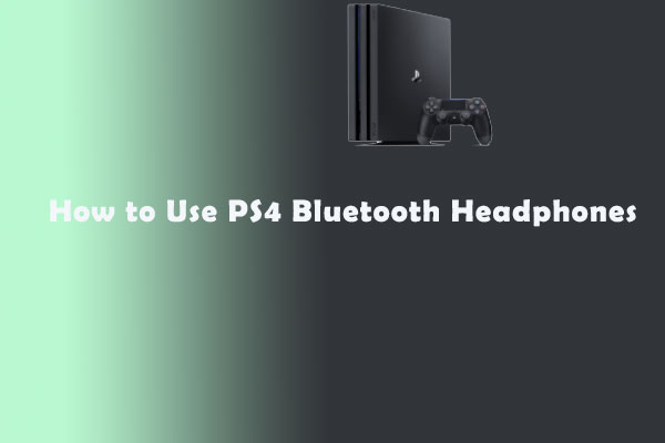 PS4 Bluetooth