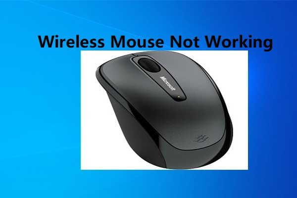 wireless mouse not working