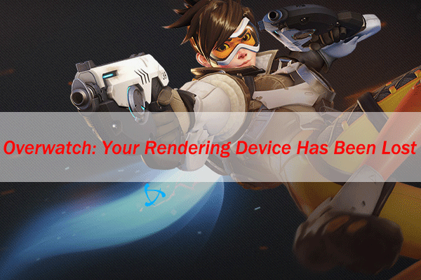 your rendering device has been lost