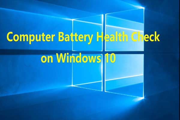 How S Your Windows Battery Perform A Laptop Battery Test Now