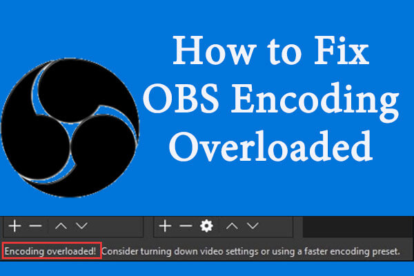 obs encoding overloaded thumbnail