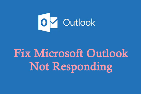 outlook not responding thumbnail