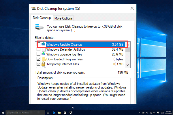 Top 7 Fixes To Disk Cleanup Stuck On Windows Update Cleanup
