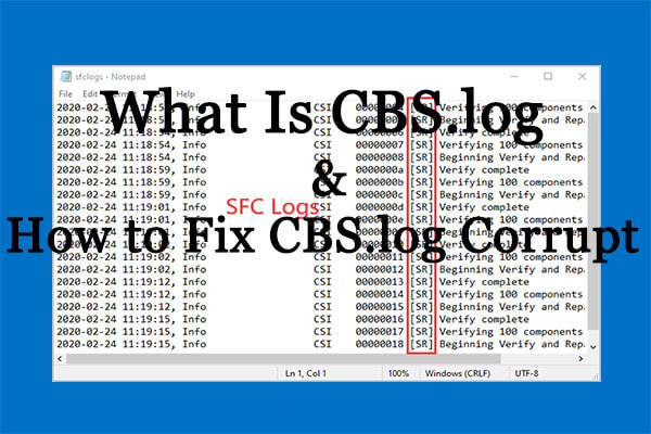 CBS.log Windows 10