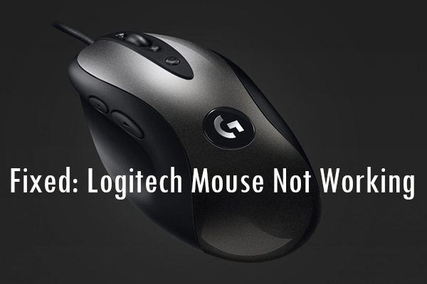 logitech mouse not working thumbnail