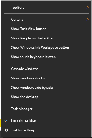 select Task Manager