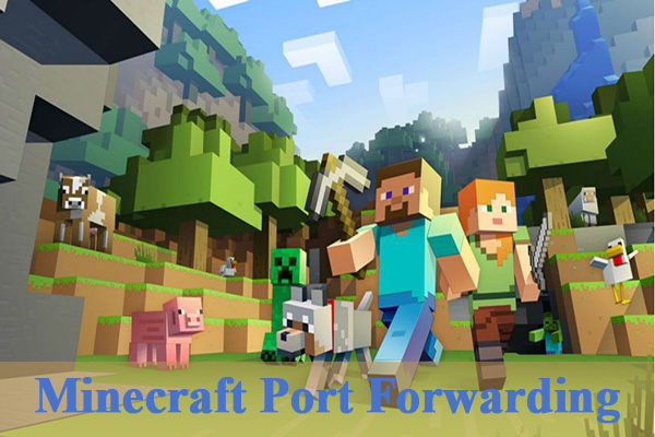 minecraft port forwarding thumbnail