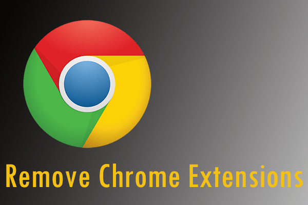 remove chrome extensions thumbnail