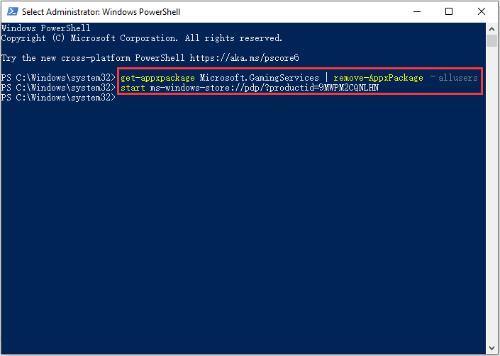 execute PowerShell commands