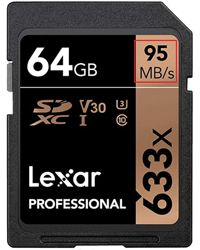 an SD card from Amazon