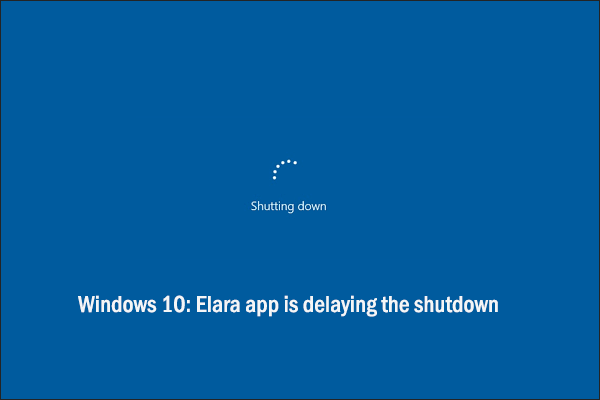 elara app preventing shutdown thumbnail