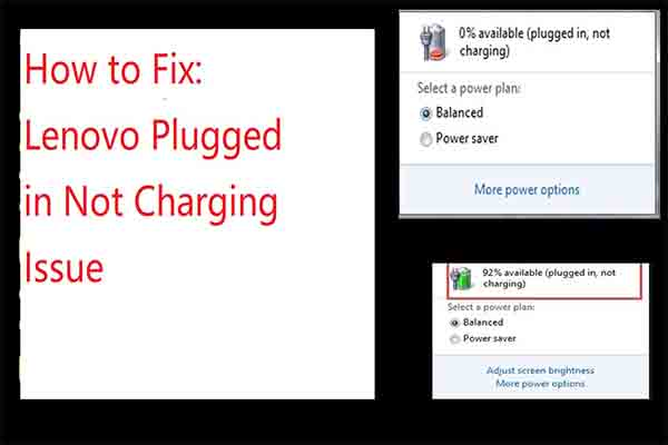 lenovo plugged in not charging thumbnail