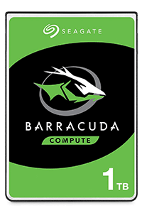 Seagate BarraCuda 1TB 2.5 Inch HDD