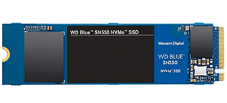 WD Blue SN550 250GB NVMe Internal SSD