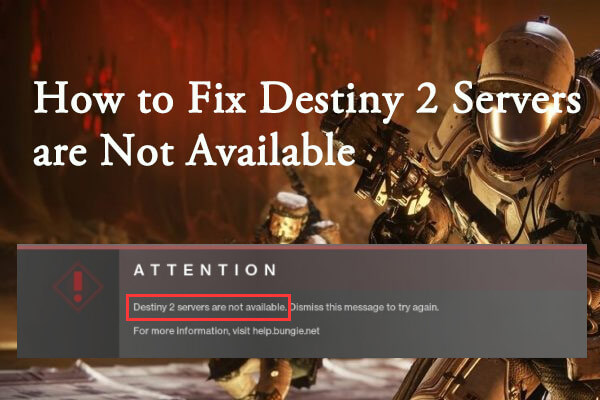 destiny 2 servers are not available thumbnail