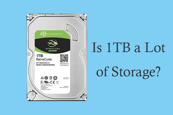 Is 1TB a lot of storage