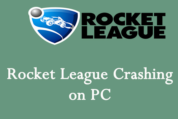 Rocket League crashing