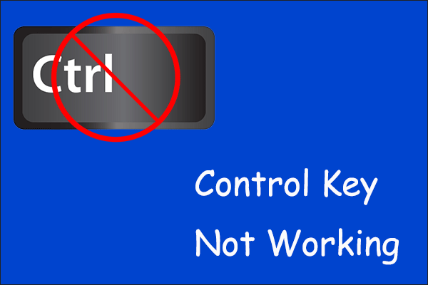 control key not working thumbnail